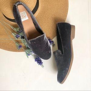 Dolce Vita velvet slip on shoes size 6.5